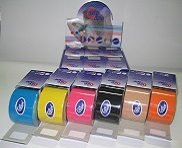 Cure Tape Cores Variadas - caixa com 6 bandas